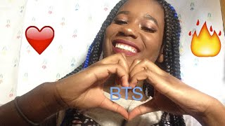 BTS- Love Yourself Tear REACTION WHILE I DO MY MAKEUP | Jo Beauty |