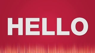 Hello SOUND EFFECT - Hello SOUNDS