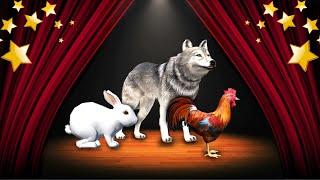 Загадки для Малышей🐭👶Как Говорят Животные - Развивающие Мультики для Детей