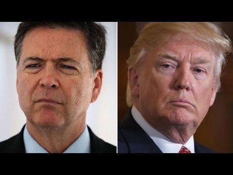 Fmr. FBI Director James Comey Testimony On Donald Trump