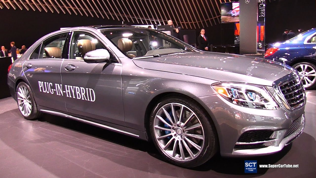 2017 Mercedes Benz S Class S 550e Plug In Hybrid Exterior