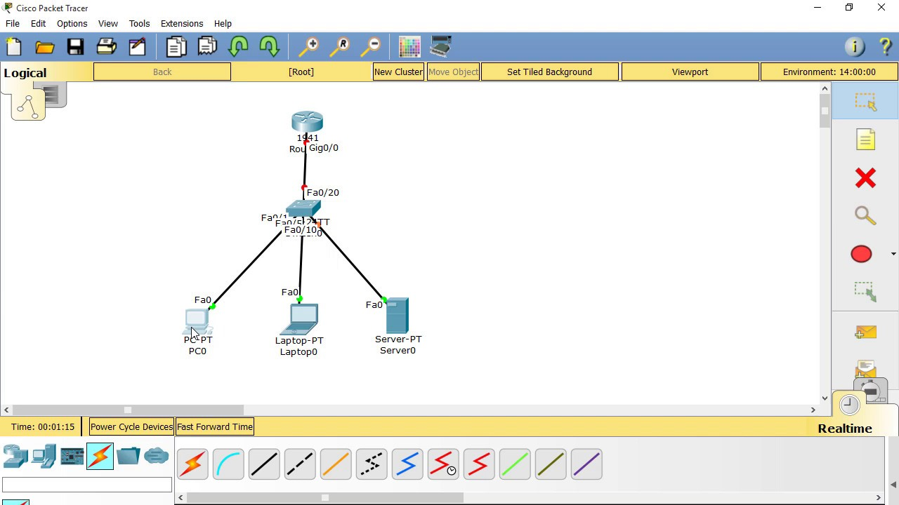 How to configure DHCP in Packet Tracer | Configuration DHCP Server on Cisco  router | 200-125 CCNA
