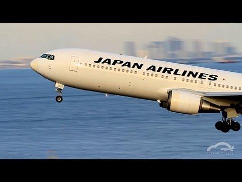 JAL B767-300[JA8397] Takeoff at Tokyo International Airport