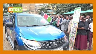 Gov't releases motor vehicles to support agricultural productivity