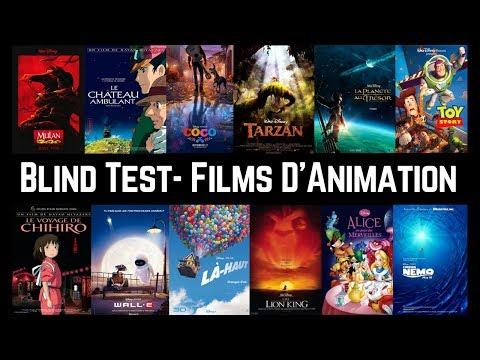 Blind Test - Films d'Animation (40 extraits)