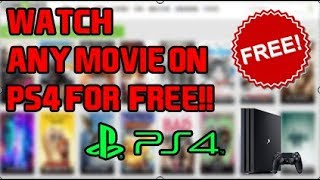 How To Watch Movies/Tv Shows On PS4 For Free Working 100%