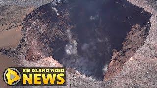 Aerial Survey Over Fissure 8, Puʻu Oʻo, Kilauea Summit and Pohoiki (May 30, 2019)