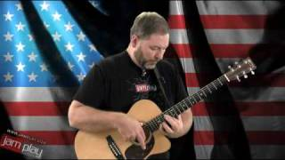 The U.S. Armed Forces Medley On Fingerstyle Guitar by Jim Deeming