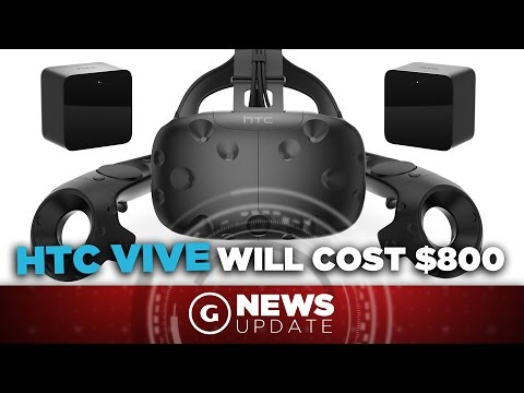 HTC Vive Is $800, Arrives in April - GS News Update