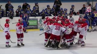 Турнир четырёх наций. Швеция U16 - Россия U16 - 1:2 Б