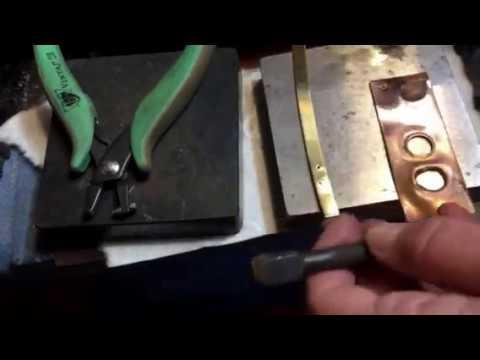 Hole Punch Plier - cutting 20g metal DIY