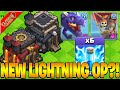 *NEW* LIGHTNING SPELL MAKE DRAGLOON OP AT TH9 & TH10!!