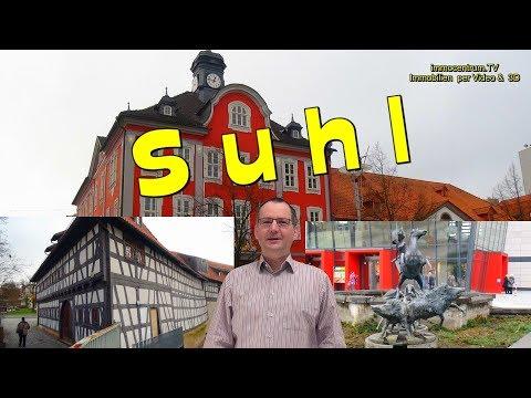 Suhl😃😃Thüringen-Stadtrundgang & Sehenswürdigkeiten-Suhler Jagdwaffen-Simson-Stadtführer- Thuringia