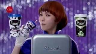 体が冷蔵庫になっている松岡茉優さんが、ドロリッチを取り出し、激しく...
