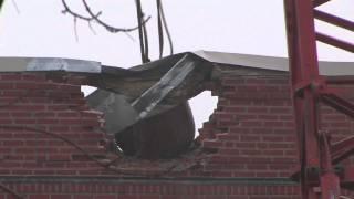 Demolition begins at Oakdale Hall