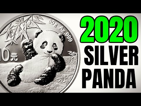 2020 Silver Pandas JUST RELEASED!