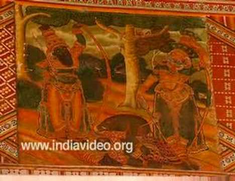 Murals- Guruvayur Temple