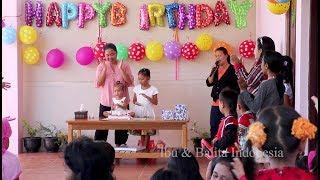 Perayaan ulang tahun bayi lucu shanti ke 2 - baby birthday party