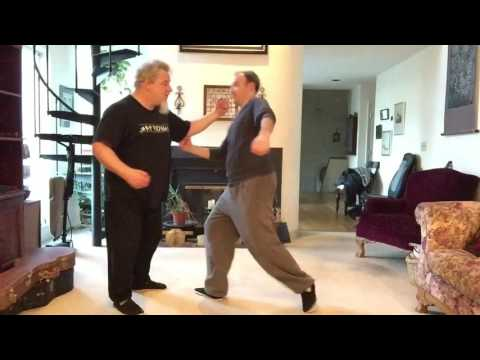 The use of Peng, Lu and An in Push Hands