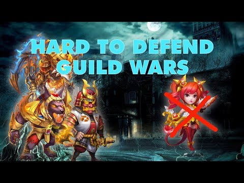 Very Hard To Defend This Team In Guild Wars - Can Devo Keeper Help? | Castle Clash