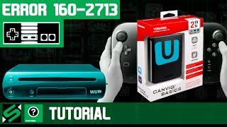 Conectar un Disco Duro Externo al Wii U [Error 160-2713]