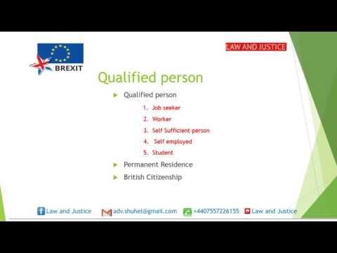 Brexit and Free movement of EU national Permanent residence and British citizenship