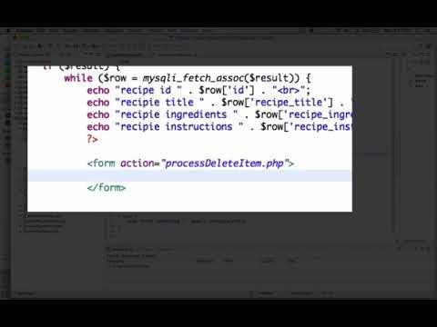CST126 18 Recipe DB App 06 Admin Page Part 1