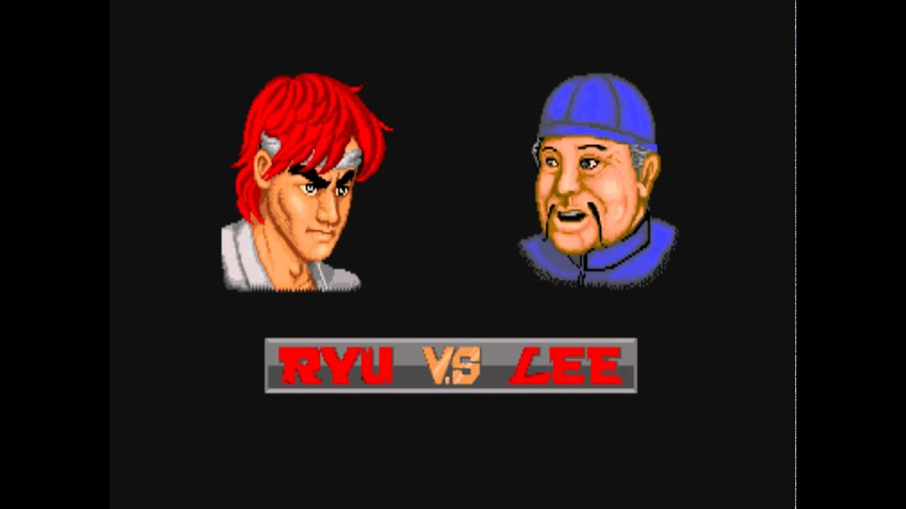 196 Street Fighter 1 Boss Hack 1 10 Sagat Playthrough