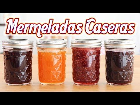 Mermeladas Caseras - Moras, Frutillas (fresas), Ciruelas, Damascos ☆ Tan Dulce