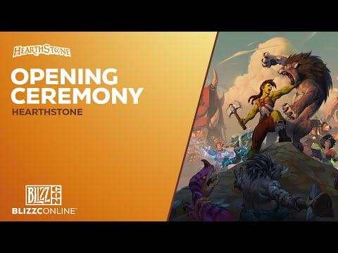 BlizzConline 2021 - Opening Ceremony - Hearthstone