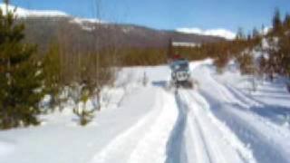 1964 Tucker Sno-cat Skiing at Mt Seaton