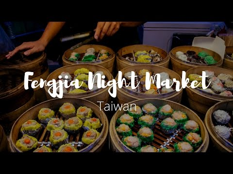 Eating My Way through Fengjia Night Market | Taiwan