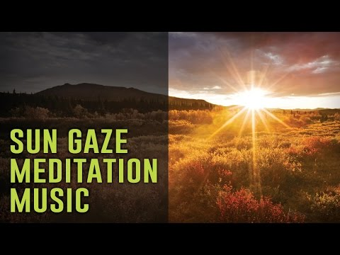 "SUN GAZING Meditation ""The Solar Zenith"" - Brainwave Entrainment Music"