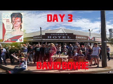 Let's Dance Carinda (David Bowie Weekend) Day 3