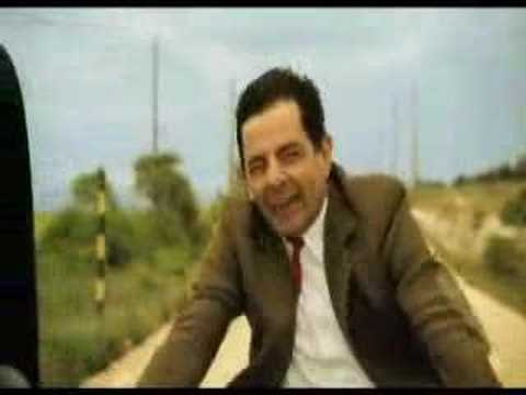 Clip Funny: Mr.Bean Dua xe