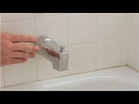 Bathroom Faucet Stopper shower repair : how do i repair the diverter in a shower? - youtube