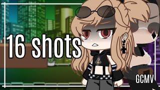 16 shots    GCMV    {🖤Part 1🖤}    Gacha Club Music Video    ⚠️flash and blood⚠️