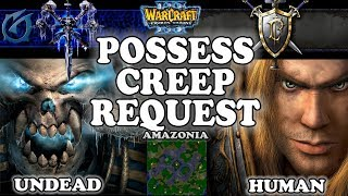 Grubby | Warcraft 3 TFT | 1.29 | UD v HU on Amazonia - Posess Creep Request