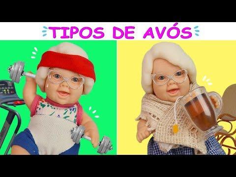 TIPOS DE AVÓS! - Lilly Doll