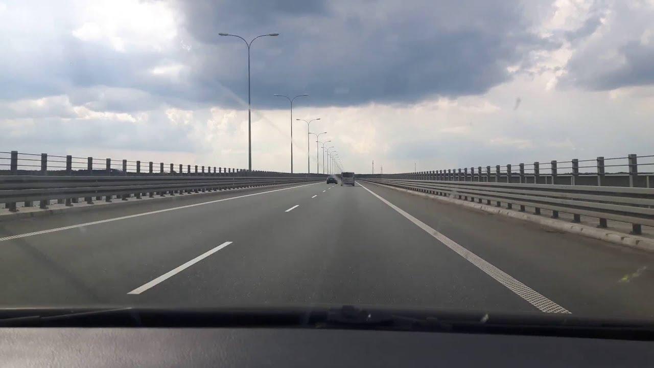 roads in Poland - A1 highway / дороги в Польша- Автомагистраль A1