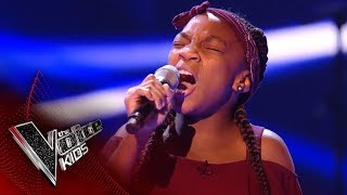 Miriam performs 'Hold Back The River': Blinds 4 | The Voice Kids UK 2017