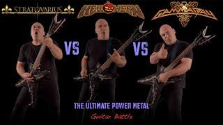 Helloween VS Stratovarius VS Gamma Ray (The Ultimate Power Metal Guitar Battle)
