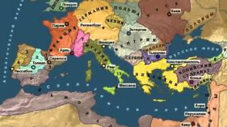 история крестовых походов (карта)