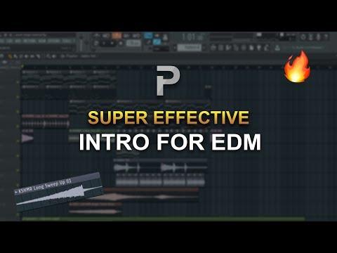 HOW TO MAKE: SUPER EFFECTIVE INTRO for EDM - FL Studio tutorial