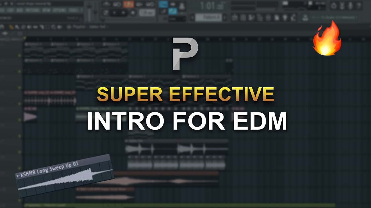 HOW TO MAKE: SUPER EFFECTIVE INTRO for EDM - FL Studio tutorial