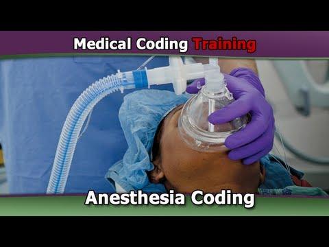 Anesthesia Coding Guidelines — Basics of Anesthesia Coding