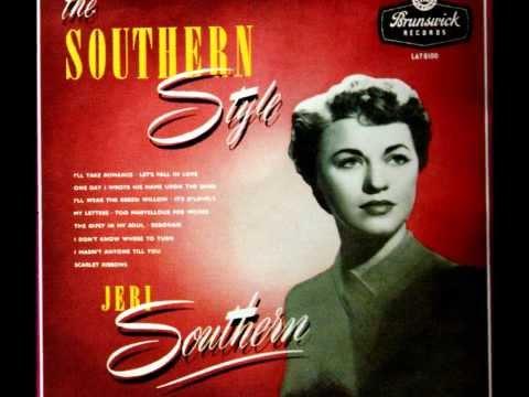 Jeri Southern - My Letters