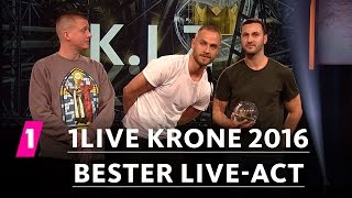Bester Live-Act: K.I.Z. | 1LIVE Krone 2016
