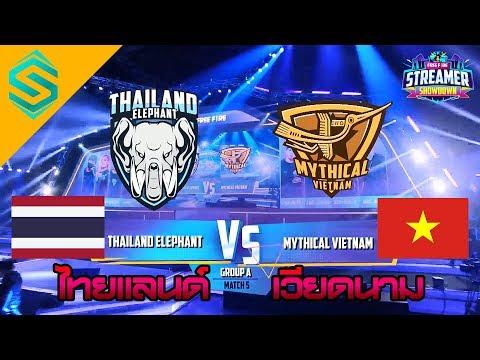 Free Fire Streamer Showdown 2019 : Thailand Elephant Vs Mythical Vietnam