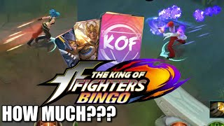 HOW MUCH IS KING OF FIGHTERS SKIN??